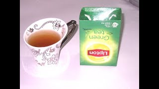 How to make green tea with honey