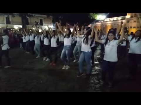 Bandas de Huehuetenango en Comitan Chiapas, México 28/07/2017