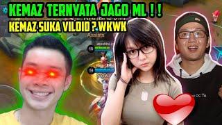 KEMAS PAKE Z TERNYATA JAGO ML!! RIP HEADSET ATI2!! WKWKWKK - Mobile Legends