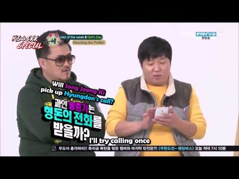 CUT 121219 Girl&39;s Day Fangirling Over Song Joong Ki ENG SUB