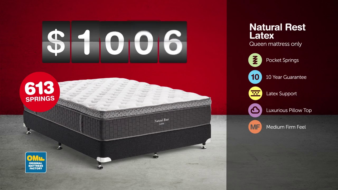 Omf Mattress Up To 50 Off Mid Year Tv Commercial 2016