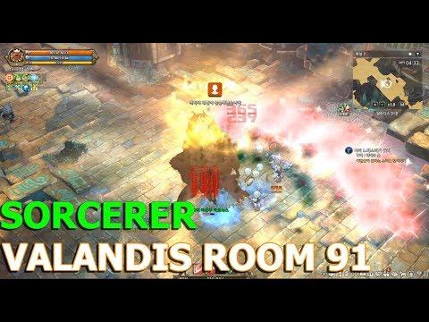 TOS] Sorcerer : Valandis Room 91 Solo Grind (MARNOX)