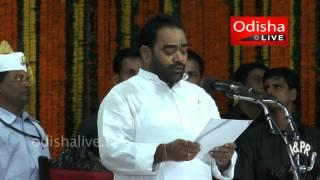 Bikram Keshari Arukh - Odisha Cabinet Minister - Taking Oath
