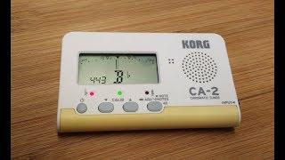 Harmonica Tuning tips: Korg CA-2