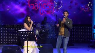 """""""Jeeva Hoovagide"""" song by Karthik and Chaitra @ 53rd Bengaluru Ganesh Utsava..!!!"""