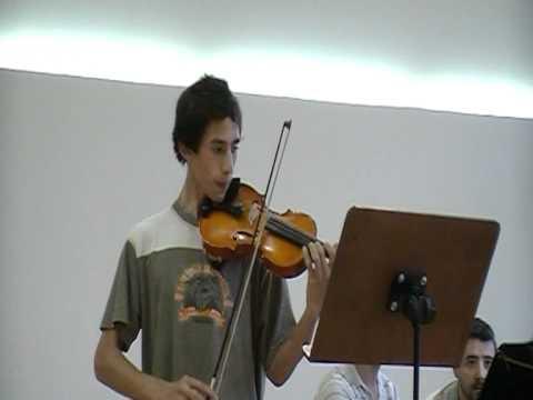 Concierto en el conservatorio de música de murcia(violin) THAÏS MÉDITATION