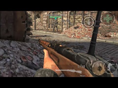 World War Heroes [40 Minutes With Mosin Premium Sniper Rifle] GamePlay Android (1080p)