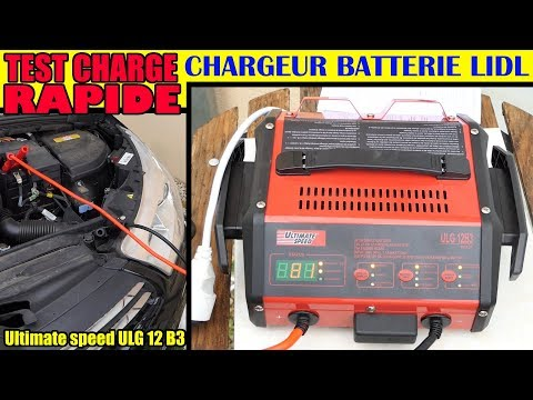 lidl chargeur de batterie ultimate speed ulg 12 test. Black Bedroom Furniture Sets. Home Design Ideas