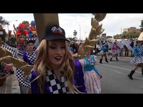 Malta Carnival 2018 Karnival ta' Malta 2018 Мальтийский Карнавал 2018 קרנבל במלטה