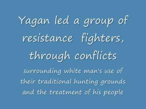 YAGAN  an aboriginal resistance hero