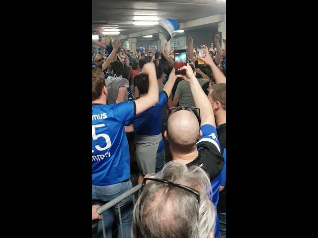 2017-2018 - Club Brugge - SC Charleroi - Feestje In De Noord Na de 6-0 Winst