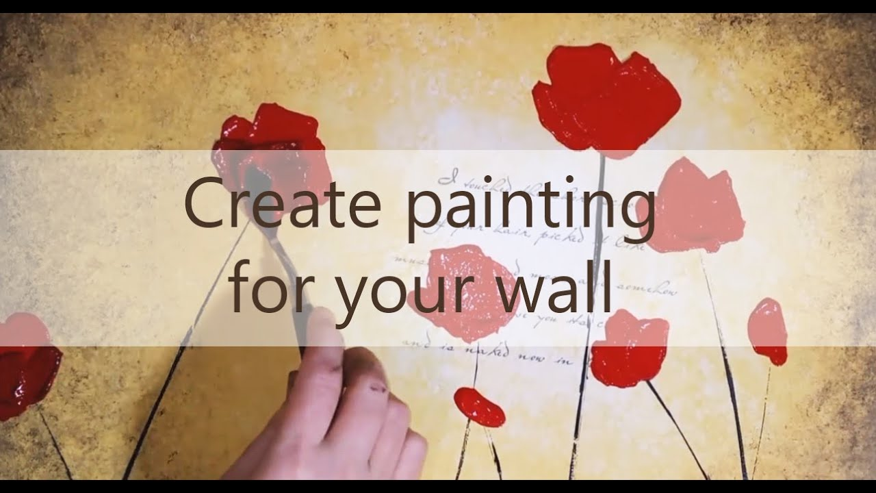 DIY Unique Wall Art Painting For Your Home