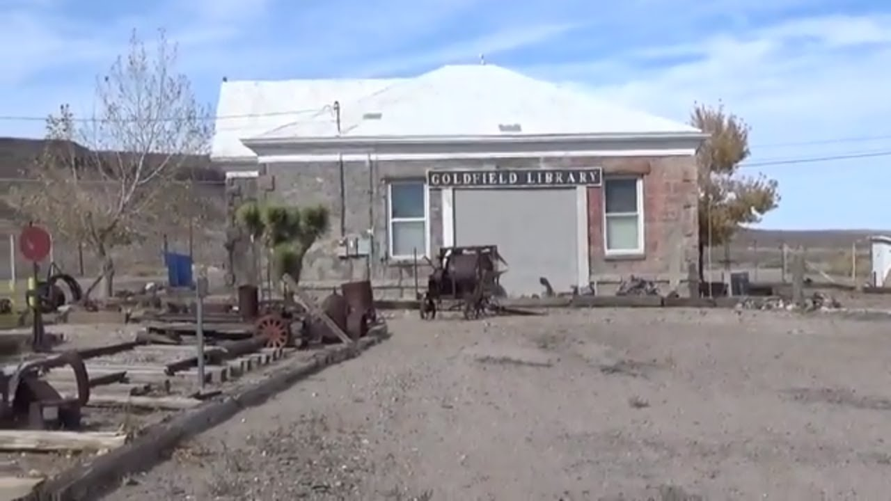 Goldfield Nevada Outdoor Gold Mining Military Museum Tour ...