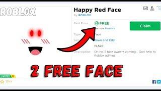 USE 2x QUALSIASI FACE GRATIS su ROBLOX 😨!! / Ottieni facce limitate GRATIS ! / Roblox