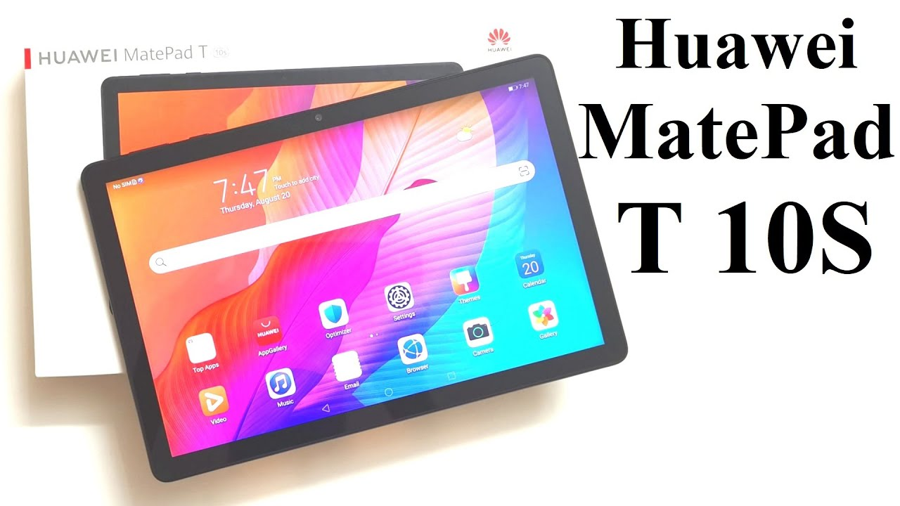 Huawei MatePad T 10S - Unboxing and First Impressions (Design, Camera, Features, Screen) - YouTube