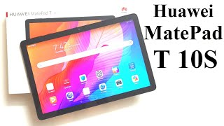 Huawei MatePad T 10S - Unboxing and First Impressions (Design, Camera, Features, Screen)