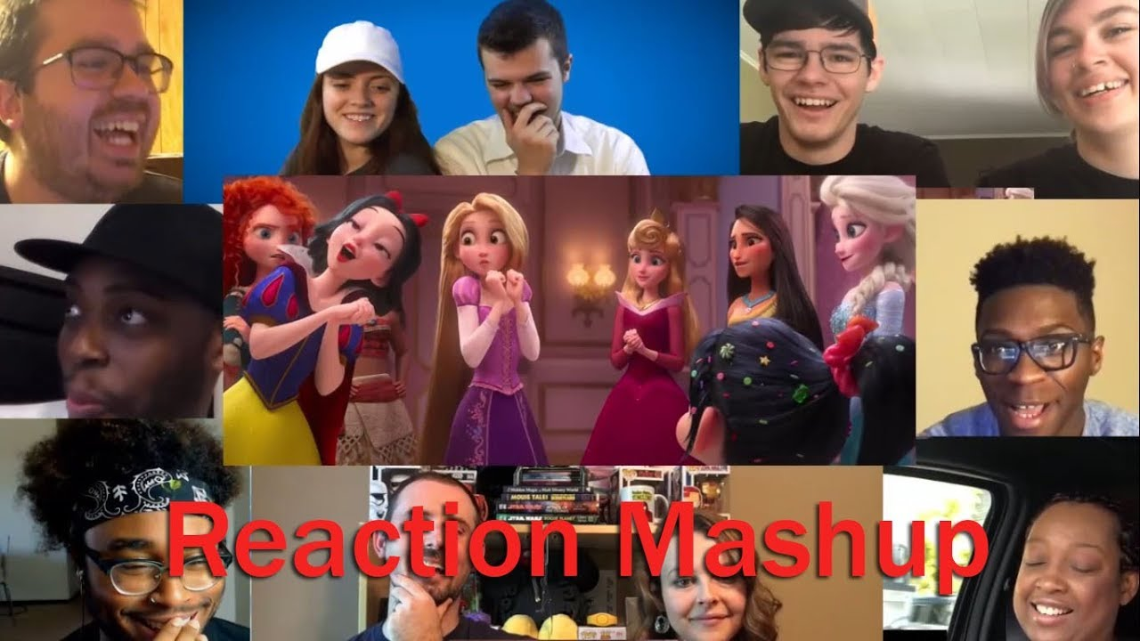 Ralph Breaks the Internet  Wreck It Ralph 2 Official Trailer REACTION MASHUP