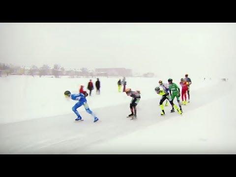 Speed Skating Marathon   Luleå, Sweden   Trans World Sport