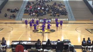 DanceFullOutMN - St Francis Dance Team Jazz 2015
