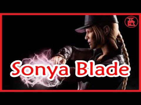 Mortal Kombat X - Demolition Sonya Blade (Gold Card) Upgrade [Special Attacks + X-ray]