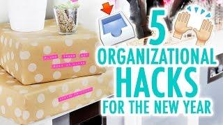 5 DIY Hacks to Stay Organized in the New Year! - HGTV Handmade