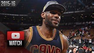 LeBron James Full Game 6 Highlights at Raptors 2016 ECF - 33 Pts, 11 Reb, LEGEND!