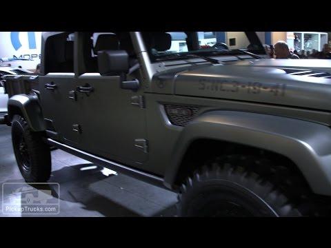 Jeep Pickup Truck Concepts at SEMA