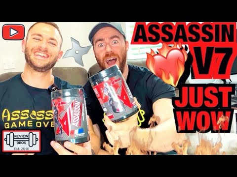 ONLY FOR THE HARDCORE | ASSASSIN V7 PRE WORKOUT REVIEW | APOLLON NUTRITION