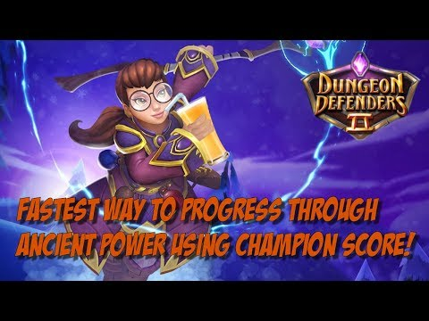 The New Fastest Way to Progress Through Ancient Power!