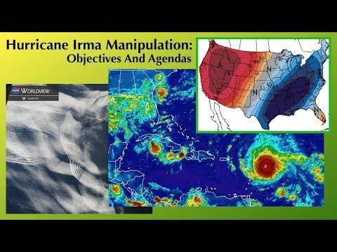 Hurricane Irma Manipulation: Objectives And Agendas ( Dane Wigington GeoengineeringWatch.org )