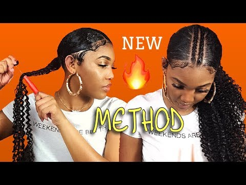 HOW TO SLEEK INVISIBLE PONYTAIL TUTORIAL ON NATURAL HAIR