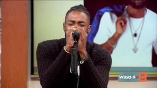 Sammie performs Dear America On WUSA9