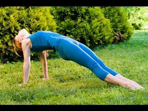йога для начинающих для похудения талии вниз