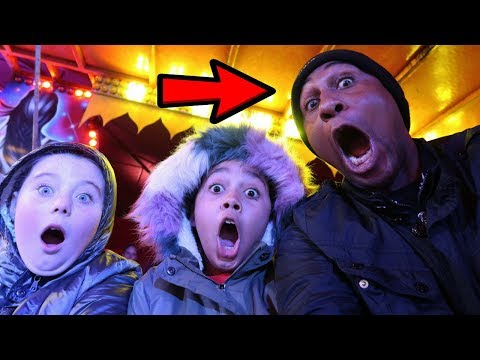 DAD FREAKS OUT!!! Amusement Park Compilation