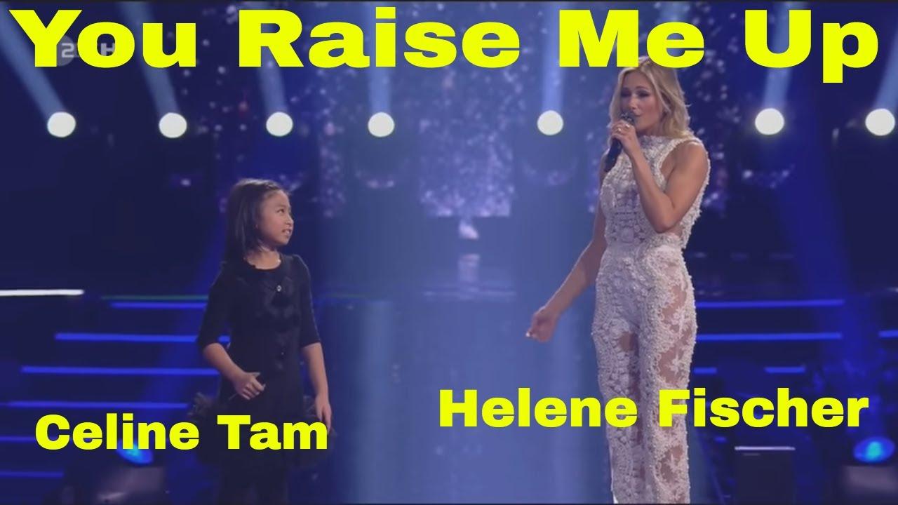 Celine Tam Helene Fischer Duet You Raise Me Up Youtube Baju Couple Hikaru