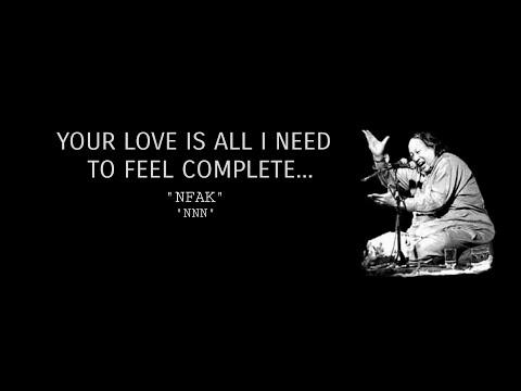 Ghum Hai Ya Khushi Hai Tu Meri Zindagi Hai Tu | Nusrat Fateh Ali Khan |