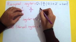 Temel Kavramlar Şenol Hoca Matematik