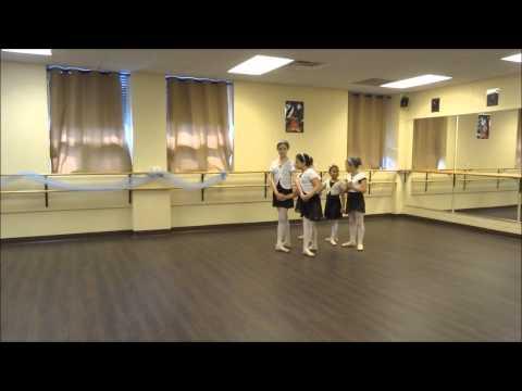 Ballet 1 & 2 End-of-year Open Class - Petit allegro + polka (part 8 )