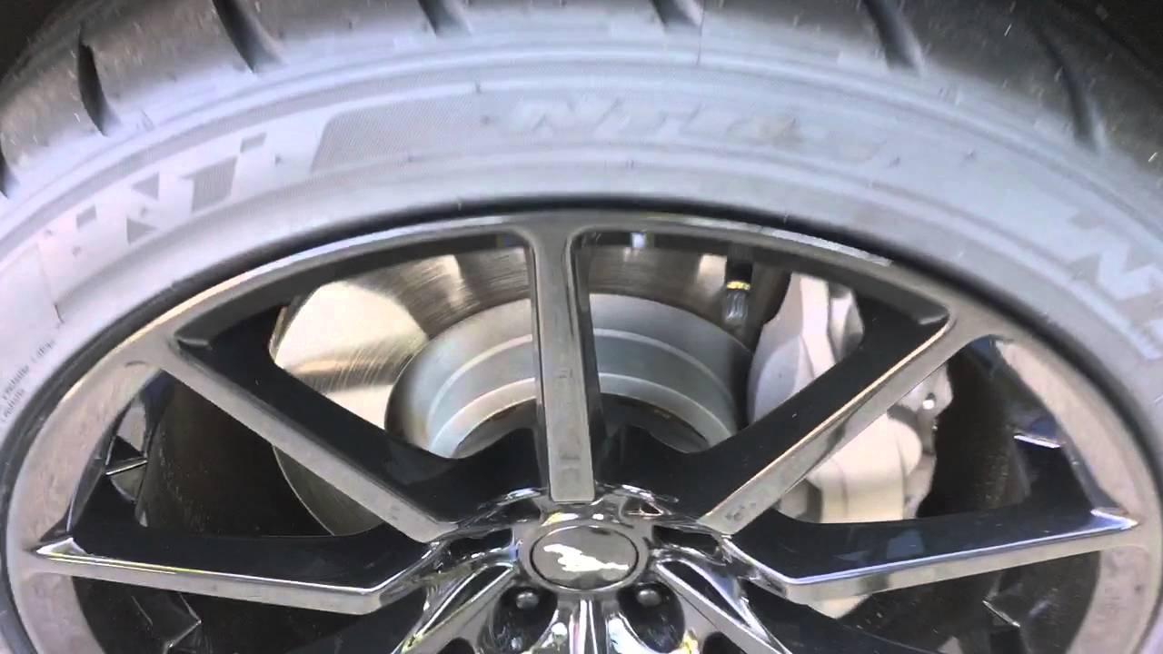 Mrr M350 Black Rims On 2016 Mustang Gt Youtube