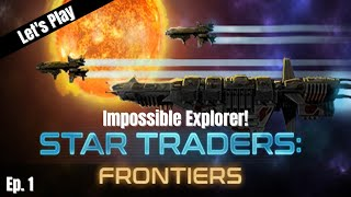 Let's Play Star Traders Frontiers: The Impossible Explorer! Ep. 1 screenshot 3