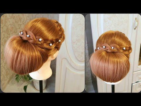 Причёска 2019 ! Лёгкая красивая причёска на свадьбу