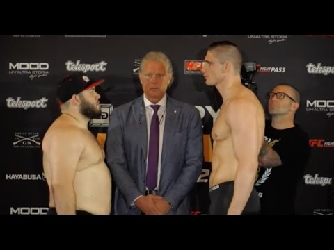 GLORY 41 Holland: Official Weigh-in