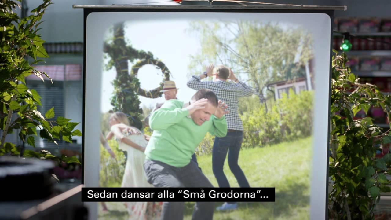 ICA reklamfilm 2012 v.25 - Stigs midsommarskola på polska ...
