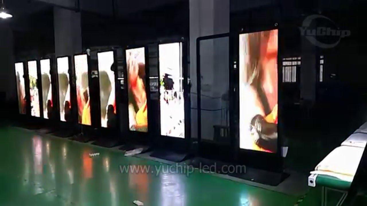 Super Slim Led Light Box Snap Led Frame Movie Led Poster