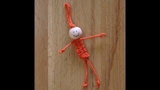 Как сделать куколку- брелок своими руками