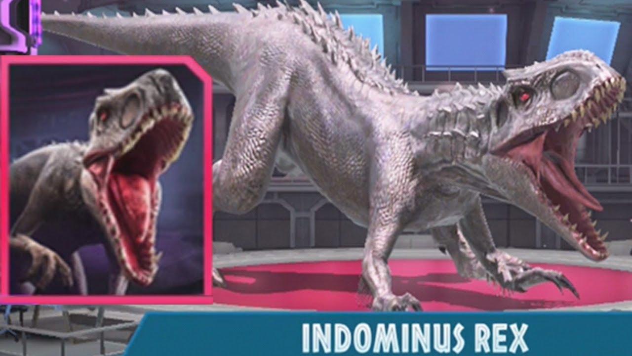 INDOMINUS REX UNLOCKED - Jurassic World Alive - YouTube