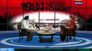 TV84 News 10/31/14 Interview with Jasbir S (Eye Witness-1984 Sikh Genocide) on Sikh-India relations