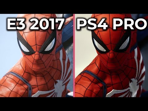 Marvel's Spider-Man – E3 2017 vs. PS4 Pro Release Version – Downgrade & Puddle-Gate? Well...
