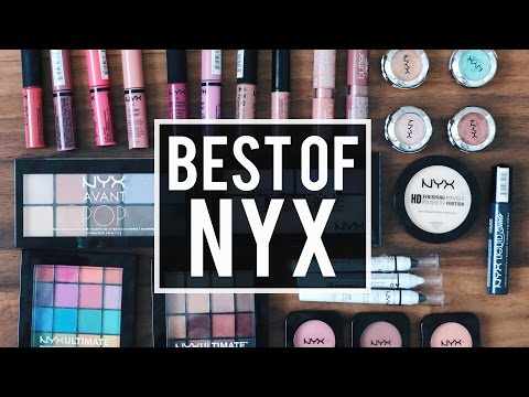 BEST Of NYX COSMETICS: My All-Time Favorite Products | JamiePaigeBeauty