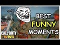 COD WW2 Funny FAILS & EPIC MOMENTS (BEST Call of Duty: WWII  Moments)